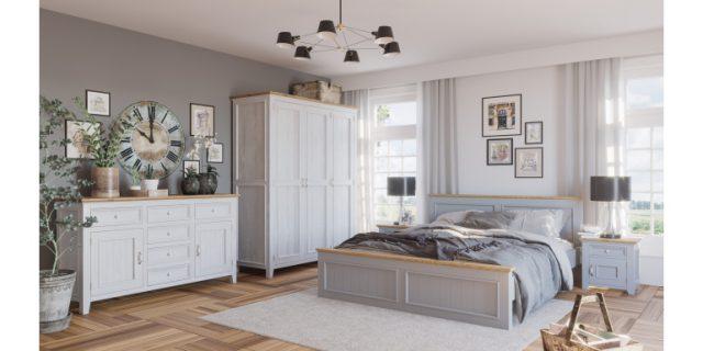 Meble w skandynawskim stylu do sypialni